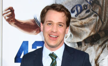 T.R. Knight on the Red Carpet