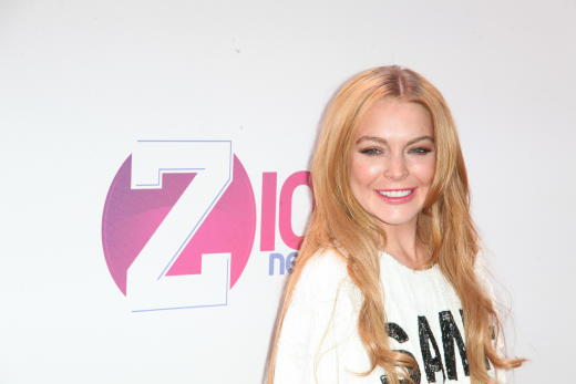Lindsay Lohan, All Smiles