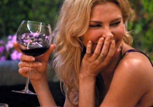 Brandi Glanville Gets Drunk