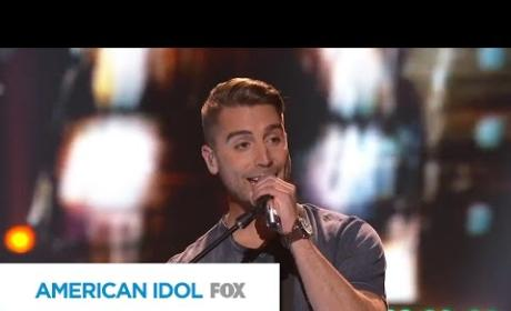 "Nick Fradiani - ""Bright Lights,"" Take 2"