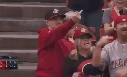 Matt Adams Shoves Fan Catching Foul Ball, Gets Middle Finger