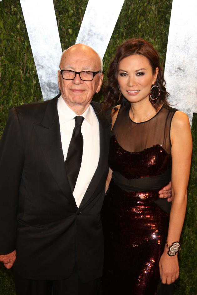 Rupert Murdoch, Wife