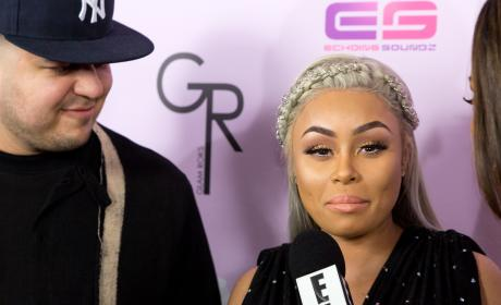 Blac Chyna Gives Interview At her Birthday Party/Emoji Launch