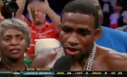 Adrien Broner Celebrates Victory with Fake Marriage Proposal [Video]