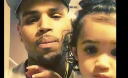 Chris Brown & Royalty: So Much Father & Daughter Bonding!