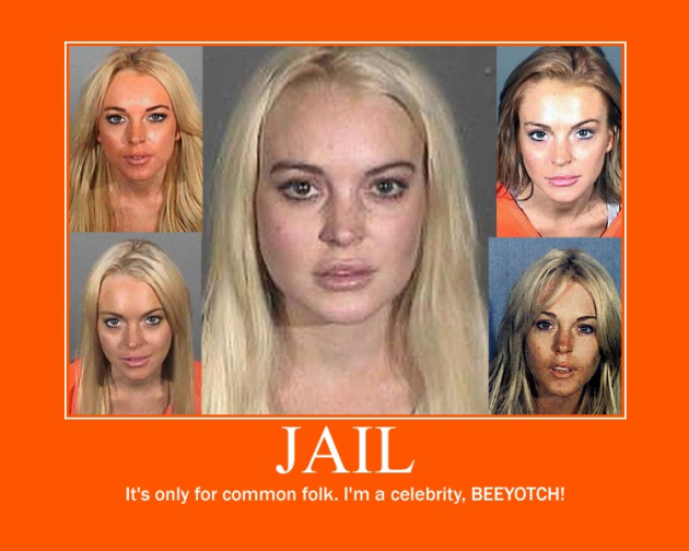 Lindsay Lohan Motivational Poster