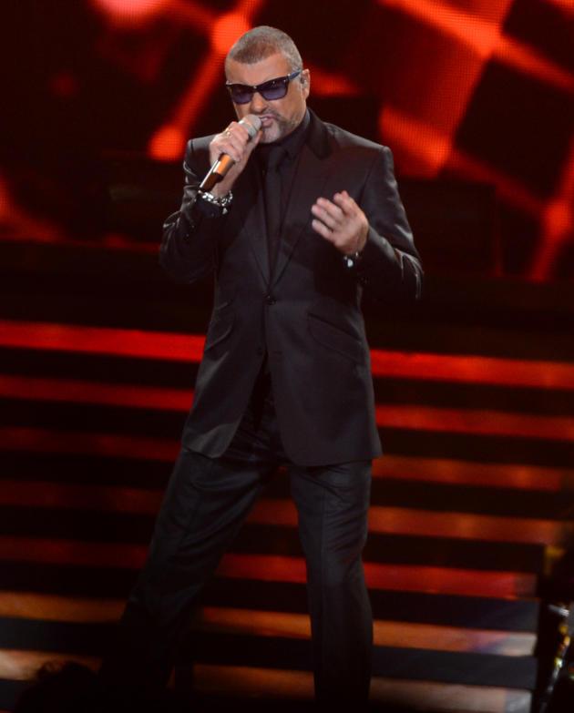 George Michael Concert Pic