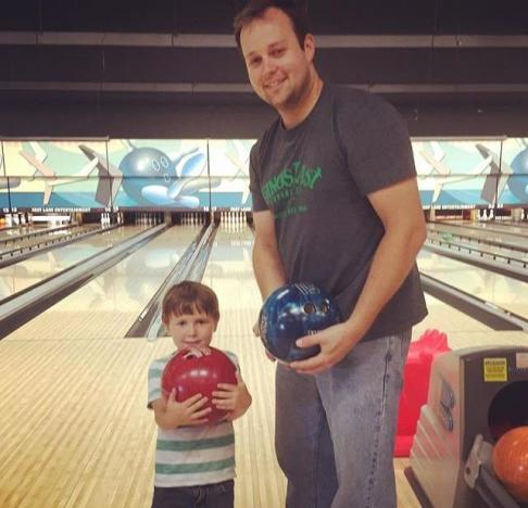 Josh and Michael Duggar Bowling
