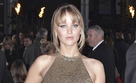 Jennifer Lawrence in London