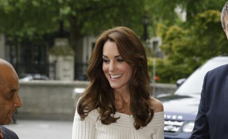Kate Middleton Natural History Museum Pic
