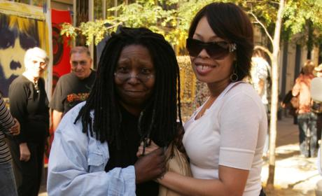 Whoopi Goldberg and Daughter Alexandrea Martin