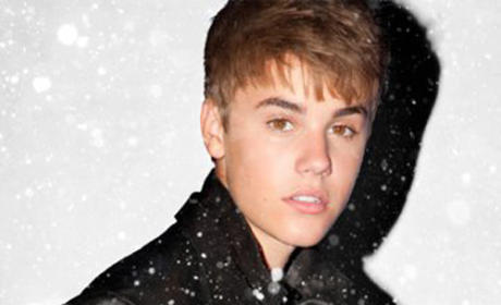 Justin Bieber Christmas Album Cover