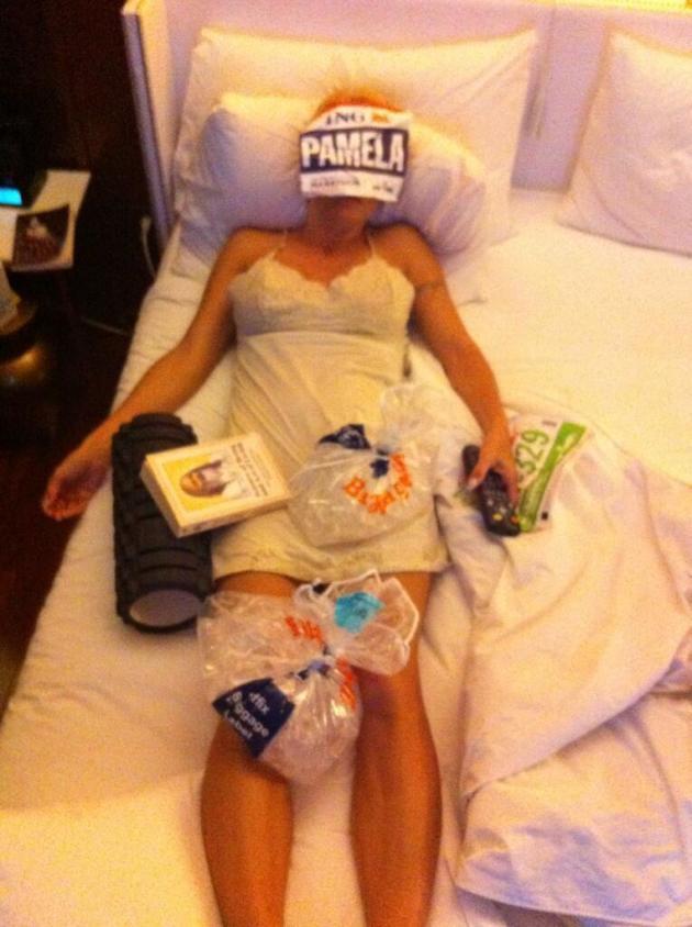 Pamela Anderson, Post Marathon