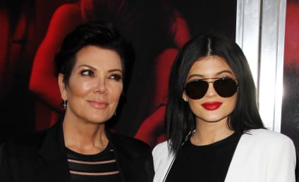 Kris Jenner to Kylie: Cover Your A--!
