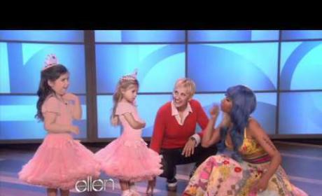 Nicki Minaj Surprises Young Fan on Ellen