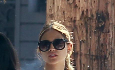 Eiza Gonzalez Smokes