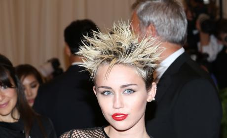 Miley Cyrus at MET Gala