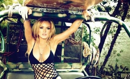 Lindsay Lohan in GQ: Where is the Ankle Monitor?