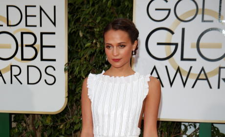 Alicia Vikander: 73rd Annual Golden Globe Awards