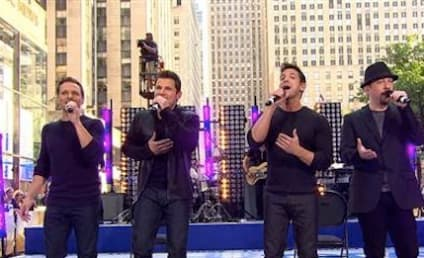 98 Degrees Reunites on The Today Show