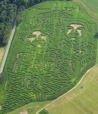 Paul Derthick Corn Maze
