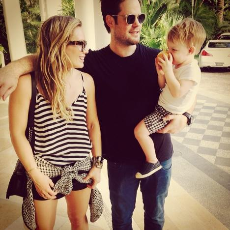 Hilary Duff Family