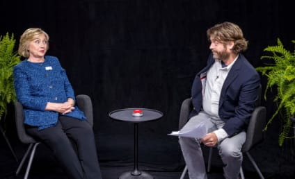 Zach Galifianakis to Hillary Clinton: What If You Get Pregnant in the White House?