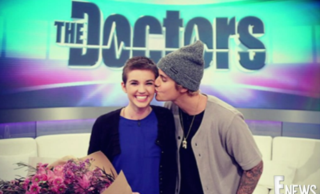 Justin Bieber Surprises Burn Victim