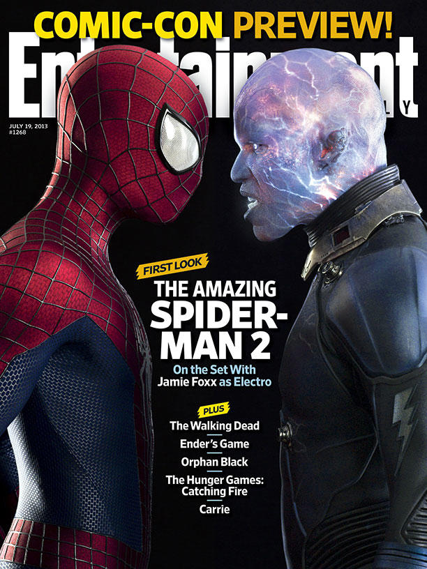 Jamie Foxx as Electro in Amazing Spider-Man 2