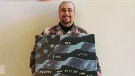 George Zimmerman's Painting