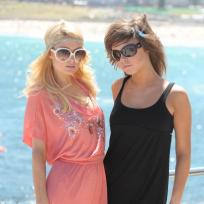 Brittany Flickinger and Paris Hilton Down Under