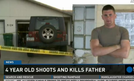 4-Year Old Shoots, Kills Father in Arizona