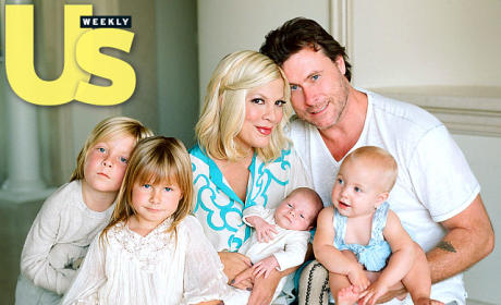 Tori Spelling, Dean McDermott, Family
