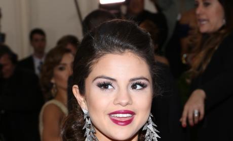 Selena Gomez in Purple