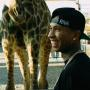 Tyga and a Giraffe