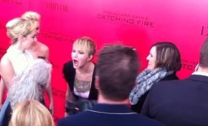Jennifer Lawrence Pretends to Flip Out at Photographers, Is Totally and Completely Awesome
