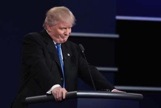 Donald Trump Debate Pic