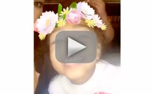 "North West & Penelope Disick Are Adorable ""Coachella Girls"" on Snapchat: WATCH"