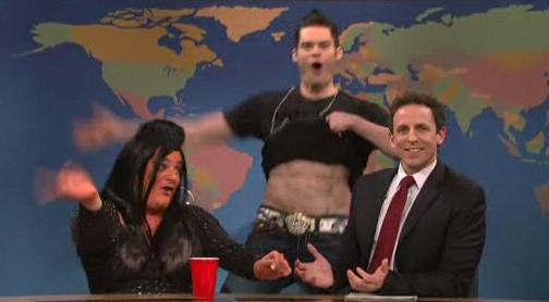 Jersey Shore on Weekend Update