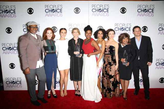 Greys anatomy cast 2016 peoples choice awards