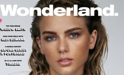 Taylor Swift: Makeup-Free For Wonderland Magazine!