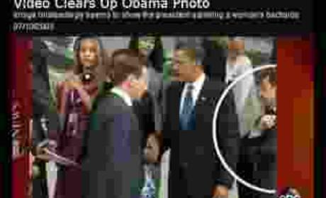 Barack Obama: NOT Checking Out Girl!