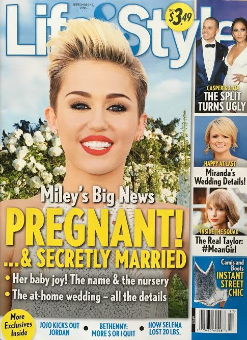 Miley Cyrus: Married and Pregnant