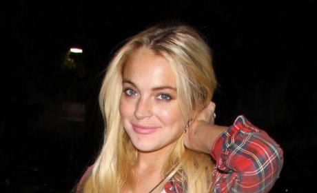 Lindsay Lohan Goes Back to Rehab