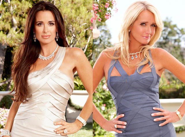 Kyle Richards vs. Kim Richards