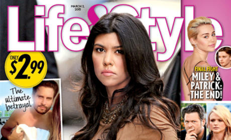 Kourtney Catches Scott!!!