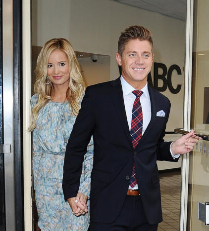 Jef Holm and Emily Maynard Photo