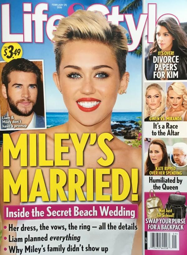 Miley Cyrus: Pregnant?... Miley Cyrus Married