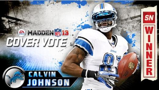 Calvin Johnson for Madden