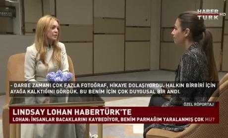 Lindsay Lohan: Turkish Television Interview